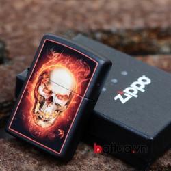 Bật lửa Zippo Molten Ghost Rider - Mã SP: BL10312