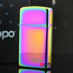 Bật lửa zippo Mỹ chính hãng bản hẹp 7 màu - Mã SP: BL10153