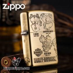 Bật lửa Zippo phiên bản động cơ Harley cổ điển - Mã SP: ZPC0913