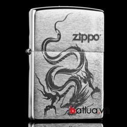 Bật lửa zippo rồng phiên bản cát sâin - Mã SP: BL10106