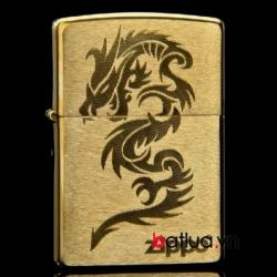 Bật lửa Zippo Rồng Ver Đồng - Mã SP: BL10142