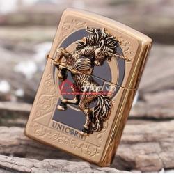Bật lửa zippo xuất nhật chính hãng họa tiết  ngựa hoang dã Specials - Mã SP: BL09909