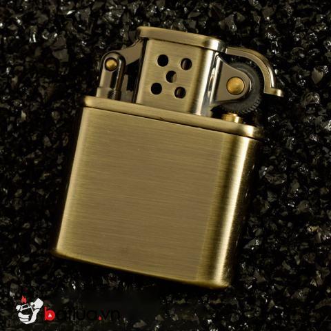 Bật Lửa Zorro Z506 Xăng Đá Đồng Cổ Điển