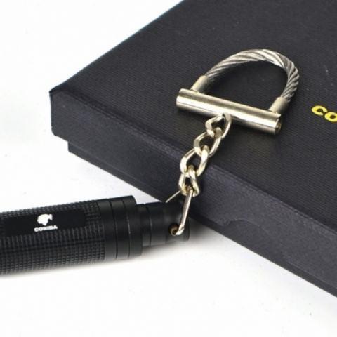 Đầu cắt Cigar có móc treo Cohiba màu vàng đen