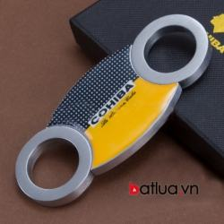 Đồ cắt xì gà chính hãng COHIBA bằng thép không rỉ - Mã SP: BL03321