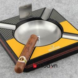 Gạt tàn Cohiba thời trang, kèm dao cắt bằng thép ko rỷ - Mã SP: BL03170