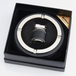 Gạt tàn kiêm bật lửa BORUI sang trọng BR-16T - Mã SP: BL09194