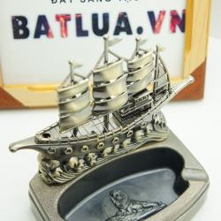 Gạt tàn kiêm bật lửa hình thuyền buồm MS77 004 - Mã SP: BL00481