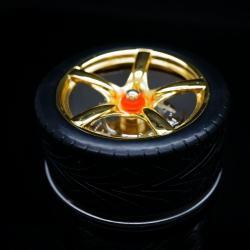 Gạt tàn mã 618 kiểu dáng hình bánh xe - Mã SP: BL00961