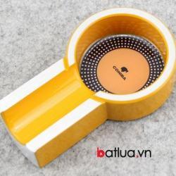 Gạt tàn mini xì ga Cohiba màu vàng - Mã SP: BL10331