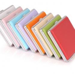 Hộp đựng thuốc bọc da sắc màu cá tính - Mã SP: BL01530