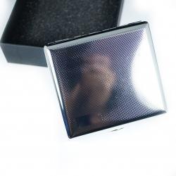 Hộp đựng thuốc bọc da vân xọc caro nhỏ loại 20 điếu sang trọng - Mã SP: BL01531