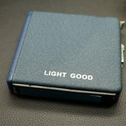 Hộp đựng thuốc đa năng Light Good bản rộng Màu nhám xanh ( Có thể đựng được 20 điếu thuốc ) - Mã SP: BL00499