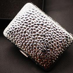 Hộp đựng thuốc khắc hình vân vẩy cá nổi (loại 16 điếu) - Mã SP: BL01612