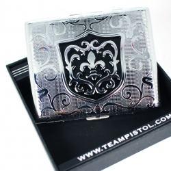 Hộp đựng thuốc khắc hoa văn sang trọng thiết kế trang nhã - Mã SP: BL01533