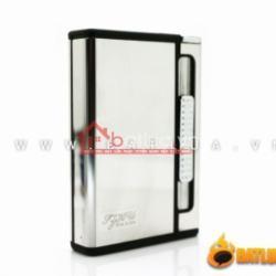 Hộp Đựng thuốc kiêm bật lửa đa năng Xinlian tuyệt đẹp 3 màu bạc  , đen  , Vàng siêu sang trọng và tinh tế - Mã SP: BL02014