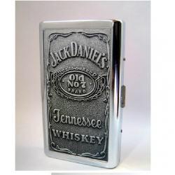 Hộp đựng thuốc lá bằng kim Loại mang nhãn hiệu Zippo Jack Daniels - Mã SP: BL09001