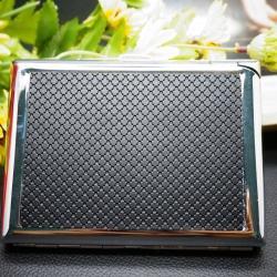 Hộp đựng thuốc lá đa năng DH-8923 kẻ ô chấm tròn - Mã SP: BL00485