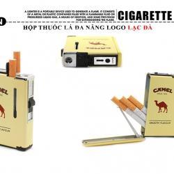 Hộp đựng thuốc lá đa năng in hình gói thuốc CAMEL sang trọng - Mã SP: BL09072
