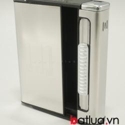 Hộp đựng thuốc lá đa năng in logo Dunhill (Bạc) - Mã SP: BL10023