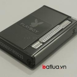 Hộp đựng thuốc lá đa năng in logo PlayBoy (Đen) - Mã SP: BL10017