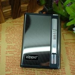 Hộp đựng thuốc lá đa năng in logo Zippo - Mã SP: BL01888
