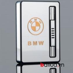 Hộp đựng thuốc lá đa năng lửa khò BMW ( 10 điếu) - Mã SP: BL09997