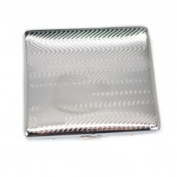 Hộp đựng thuốc lá MR.SMOKE kim loại cao cấp kiểu gợn sóng (loại 9 điếu) - Mã SP: BL01606