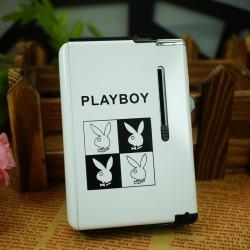 hộp đựng thuốc lá Playboy loại trắng ( đựng 10 điếu ) - Mã SP: BL01889