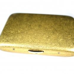 Hộp đựng thuốc lá Spear đồng vàng cổ (loại 16 điếu) - Mã SP: BL01603