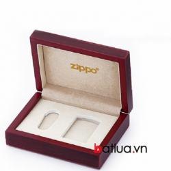 Hộp đựng Zippo chất liệu gỗ sang trọng