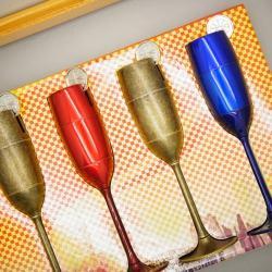 Hộp quẹt kiểu dáng ly rượu MS88 068 - Mã SP: BL00678