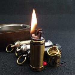 quẹt xăng ống thép ver 2 - Mã SP: BL03285