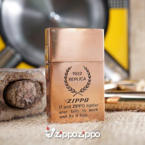 Zippo 1932 Rep Đồng đỏ