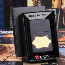 Zippo chính hãng bản chiến tranh việt nam đen logo vàng 28875 - Mã SP: BL03030