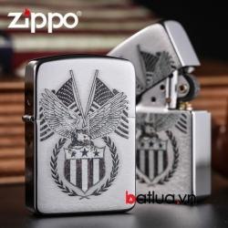 Zippo chính hãng Phiên bản 1941 khắc cờ mỹ 29093 - Mã SP: BL03033