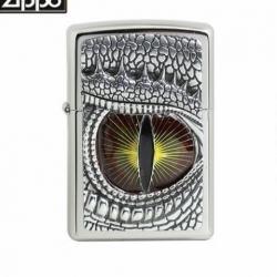 Zippo Chính Hãng Phiên Bản Châu Âu Hình Mắt Rồng 3D - Mã SP: ZPC1106