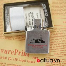 Zippo Cổ Chính hãng USA mầu bạc xước sản xuất năm 1973 - Mã SP: BL03116